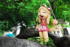 кукла счастливая Стоковое Фото