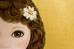 кукла ткани Стоковая Фотография RF