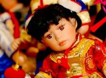 кукла фарфора Стоковые Фото