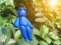 Кукла человека глины Стоковое Изображение