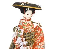 кукла япония Стоковое Фото