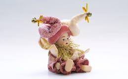 кукла 2 venetian стоковое фото