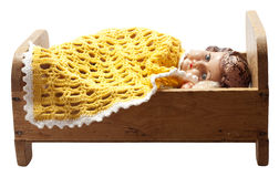 куклы кровати Стоковые Фото