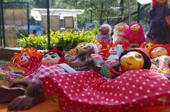 Куклы рынка Рио-де-Жанейро стоковое изображение rf