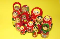 куклы babushka гнездясь русский Стоковое Фото