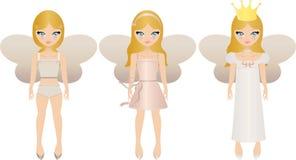 куклы fairy иллюстрация вектора