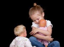 куклы i любят мое Стоковое фото RF