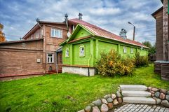 Кукольный дом в Plyos стоковые фотографии rf