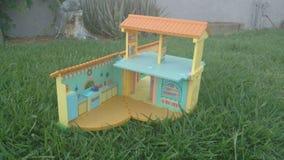 Кукольный дом для игры стоковое фото rf