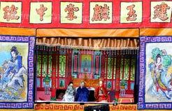 Кукольный театр в фестивале призрака стоковые изображения