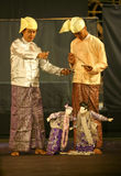 Кукольный театр стоковые изображения