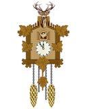 кукушка часов Стоковое фото RF
