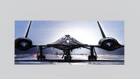 Кукушка SR-71 выбила изображения Стоковая Фотография