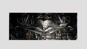 Кукушка SR-71 выбила изображения Стоковые Изображения RF