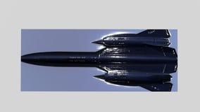 Кукушка SR-71 выбила изображения Стоковое Фото