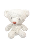 Кукла белого медведя Стоковое Изображение RF
