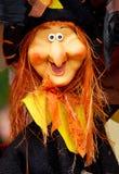 Кукла ведьмы Стоковое Изображение