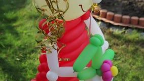 Кукла воздушных шаров акции видеоматериалы