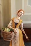 Кукла в музее Yaroslavl, России Стоковая Фотография