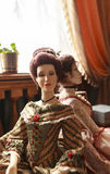 Кукла в музее Yaroslavl, России Стоковое Изображение