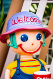 Кукла гипсолита Стоковое фото RF