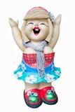Кукла глины Стоковые Фотографии RF