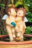 Кукла купидона любовников Стоковые Изображения RF