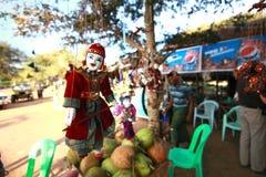 Кукла марионетки в Мьянме Стоковые Фото