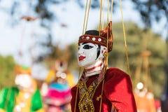 Кукла Мьянмы Стоковое Фото
