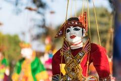 Кукла Мьянмы Стоковые Фото