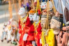 Кукла Мьянмы Стоковое Изображение RF