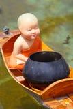 Кукла послушника буддистов, тайский стиль Стоковая Фотография RF