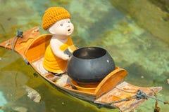 Кукла послушника буддистов, тайский стиль Стоковые Фотографии RF