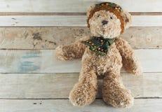 Кукла плюшевого медвежонка Стоковая Фотография