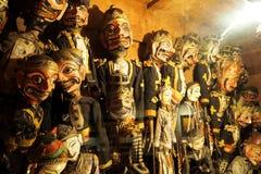 Кукла древесины Бали Стоковое Изображение RF
