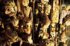 Кукла древесины Бали Стоковое Изображение