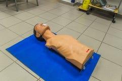 Кукла скорой помощи Стоковая Фотография