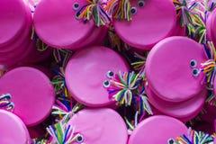 Кукла стороны игрушки розовая волшебная Стоковые Изображения RF