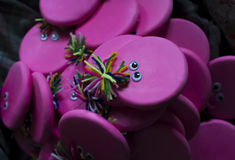 Кукла стороны игрушки розовая волшебная стоковые фотографии rf