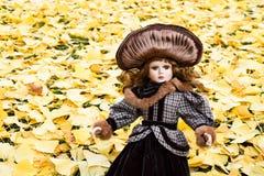 Кукла фарфора Стоковое фото RF