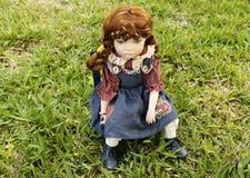 Кукла фарфора Стоковое Изображение