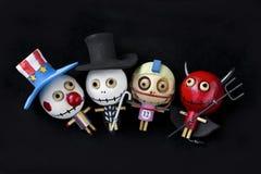Кукла хеллоуина Стоковые Изображения