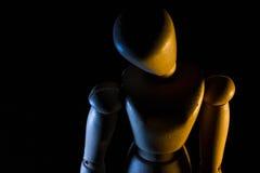 Кукла художников - 1 стоковая фотография