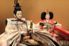 Кукла Hina (японская традиционная кукла) Стоковое Изображение RF