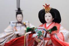 Кукла Hina (японская традиционная кукла) Стоковое Изображение