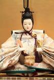 Кукла Hina (японская традиционная кукла) Стоковое Фото