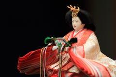 Кукла Hina (японская традиционная кукла) Стоковые Изображения