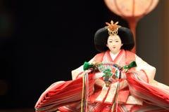 Кукла Hina (японская традиционная кукла) Стоковая Фотография RF