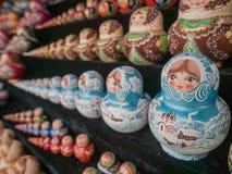 куклы гнездясь русский Стоковое Изображение