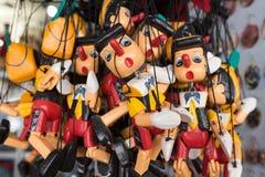 Куклы марионетки Pinocchio Стоковая Фотография